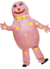Adult Mens 90s Mr Blobby Inflatable Costume