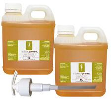 ARGAN OIL - 100% ORGANIC - 1L x 2 + 1 PUMP