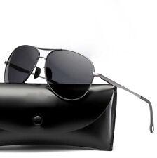 Men's Polarized Sunglasses Driving Sports Fishing Metal Glasses Eyewear Outdoor