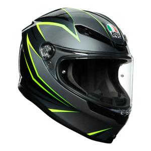 AGV K6 2021 Premium Carbon-Aramid Fibre High Protection Motorcycle Helmet VR46