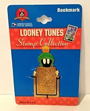 LOONEY TUNES - USPS STAMP COLLECTION MARVIN THE MARTIAN BOOKMARK ENAMEL 1997