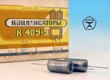 2x Matched Russian Ozr Military K40Y9 0.33uF 200V PiO Pair Capacitors HiFi Audio