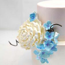 White Herbaceous Peony Sugar flower wedding birthday cake decoration topper