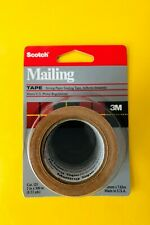 12 Pack! 3M Scotch Tan Packing Shipping Tape Heavy Duty Mailing Boxes Sealing