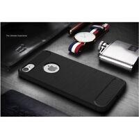 Coque Etui de Protection Elégant Motif Carbone pour Apple iPhone 7 / Noir