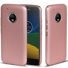 Motorola Moto C Hülle Tasche Case Cover Handy Backcover Handyhülle Rosegold