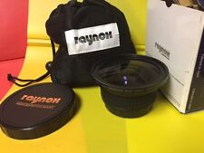 Raynox HD-7000 Pro 0.7X Wide Angle LENS 43mm 58mm Canon HV30 HV40