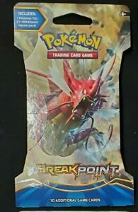 4 packs of Pokemon TCG Break Point