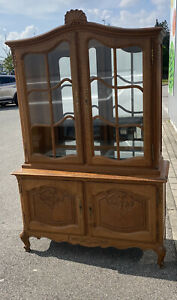 Beautiful French Louis XV Style Display Cabinet Vitrine