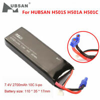 Hubsan H501S/H501A X4 FPV RC Quadcopter 7.4V 2700mAh 10C Lipo Battery(USA Stock)