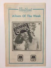 Vintage 70s The Carpenters Horizon Musicland Album Of The Week Ad Chart 1975