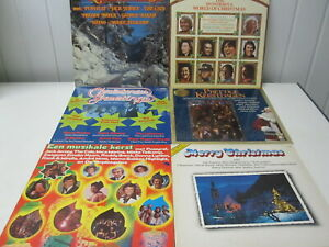 THE WONDERFUL WORLD OF CHRISTMAS  en 5 andere  - COLLECTION 6 LP'S -