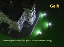 S234 - 3 Stück LED Flutlichtstrahler Bau- u. Fassadenstrahler Strahler GELB