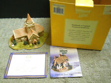 Lilliput Lane Crathie Church Balmoral L2084 Nib W/ Deeds 1997 British - Scotland