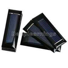 Mini Solar Panel 0.5V 100mA Solar Cells Photovoltaic Panels Battery Charger New
