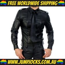 Rubber Look Shirt - Gay, Fetish, Leather *FREE WORLDWIDE SHIPPING*