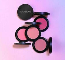 Polvo presionado Cara Contorno Maquillaje Paleta de Blush Alto Pigmento Rubor Cosméticos