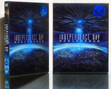 INDEPENDENCE DAY: Resurgence [Blu-Ray] 2D+3D (STEELBOOK) Limited 700, LENTICULAR