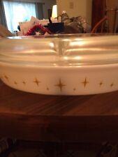Vintage Pyrex Starbust Divided Dish