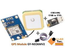 GPS Module Flight Control EEPROM with USB2TTL Compatible with NEO-6M GY-NEO6MV2