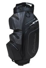 TAYLORMADE Storm Dry Waterproof Cart Bag Black/Charcoal NEW