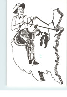 Ronald Reagan 40th President California Gov Postcard Last day issue Limited Run