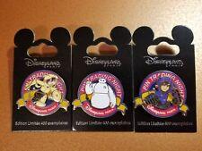 Disney DLP Paris Trading Night LE 400 Pin PTN Big Hero 6 Baymax, Hiro, Gogo