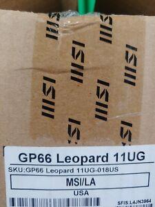 """MSI GP66 Leopard 15.6 """"inch"""" (1TB, Intel Core i7-11th Gen., 2.30GHz, 16GB) Lapt…"""