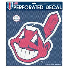 Cleveland Indians Car Window Decal Perforated Large