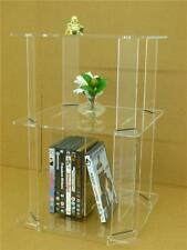Classikool Acrylic Perspex Bed or Chair Side Table: Crystal Clear Illusion Look