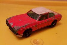 Vintage Ford Capri - Majorette No.251 Ech1/60 - Red & White - Good Con - Used