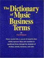 The Dictionary of Music Business Terms-ExLibrary