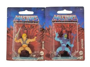 Masters of the Universe Micro Figures set of He-Man and Skeletor MOTU