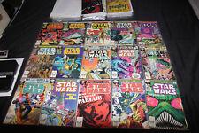 STAR WARS COMIC SET/LOT 49PC