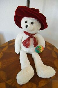 "MUSICAL CHANTILLY LANE ASHLEY TEDDY BEAR SINGS BEATLES SONG ""I WILL"" FREE SHIP"