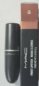 MAC ICON Frost Lipstick New in box. Genuine