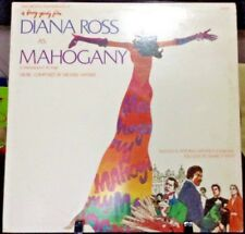 DIANA ROSS Mahogany OST Album Released 1975 Vinyl/Record  Collection US pressed