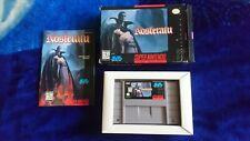 Nosferatu CIB Super Nintendo SNES NTSC USA Original Rare Title