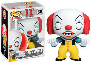 FUNKO POP VINYL TELEVISION HORROR IT PENNYWISE #55 2013 RELEASE