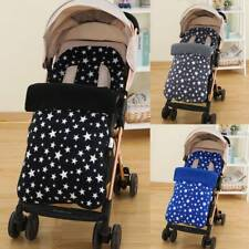 Universal Footmuff Cosy Toes Apron Liner Buggy Pram Stroller Baby Toddler Star