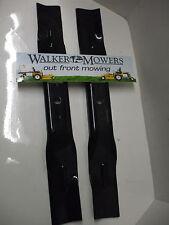 "Walker Mower GHS 42"" Blade Set  #5705-3 & 4 MADE IN USA"