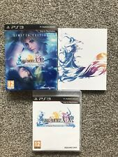FINAL FANTASY X X-2 HD REMASTER LIMITED EDITION SONY PLAYSTATION 3 PS3 GAME PAL