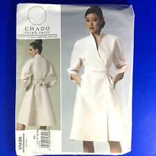 Vogue Patterns V1239 Chado Ralph Rucci EE 14 16 18 20 Misses Dress Belt Uncut FF