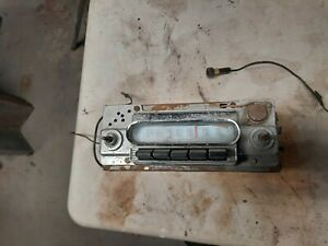 1960-1961-1962 FORD FALCON,MERCURY COMET AM RADIO
