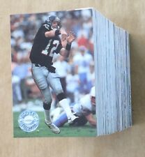 1991 Pro Set Platinum Football Trading Card NEAR Set Favre RC