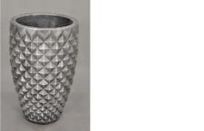 Designvase Vase Würfel Vase Dekovase Blumentopf Dekoration Deko 0902  Vasen