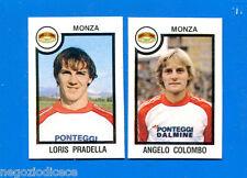 CALCIATORI PANINI 1982-83 - Figurina-Sticker n. 495 - PRADELL#COLOMB- MONZA -Rec