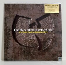 WU-TANG CLAN Legend Of Greatest Hits 180gram TRANSPARENT VINYL 2xLP Numbered NEW