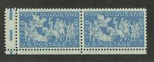 US 1123 @ (1958) EFO: Guttersnipe  w/EE dash (Fort Duquesne)