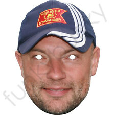 Uwe Rosler Football Card Celebrity Mask - All Our Masks Are Pre-Cut!